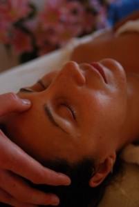 Nasya and Face Massage